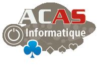 ACAS informatique, récupération de données, vente de matériel et logiciels informatiques, infogérance, dépannage matériels et logiciels