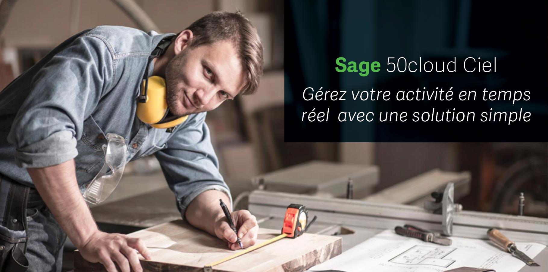 Sage 50cloud Ciel, gérer votre activité en temps réel avec une solution simple - ACAS