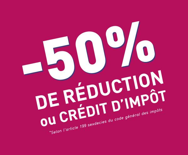 ACCÈS SAP- 50% de réduction ou crédit d'impôt - ACAS