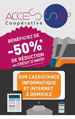 ACCÈS SAP-Bénéficiez de-50% de réduction ou crédit d'impôt