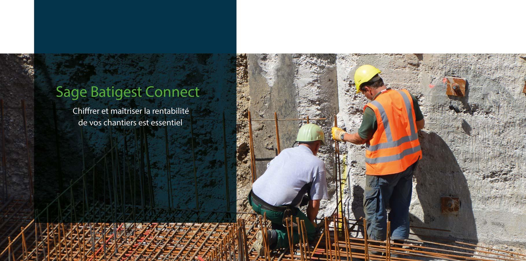 Sage Batigest Connect, chiffrer et maîtriser la rentabilité de vos chantiers - ACAS
